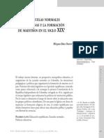 Myriam Báez Formación de Docentes en El Siglo XIX