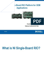 National Instruments - Single-Board RIO Platform for OEM Applications