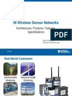 NI Wireless Sensor Networks Products, Architectures, Features, Specs)