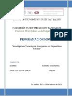 Investigacion Tecnologias Emergentes en Dispositivos Moviles
