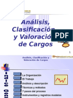 analisis y descripcion de cargos