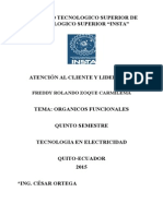 ORGANIGRAMA FUNCIONALES DE UNA EMPRESA