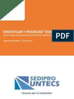 Sediprountels Identificarypriorizarstakeholders Angelor 140413162035 Phpapp01