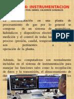 INTRUMENTACION PLANTA DE GAS