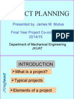 Planning of a Project-May_2014
