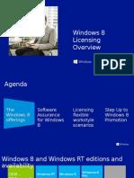 Windows 8 Licensing