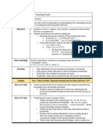 lesson plan - repeating decimals and related fractions