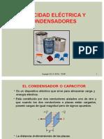 Parte 5 Capacidad Eléctrica y Condensadores 2015-II