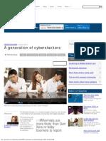 Capital - A Generation of Cyberslackers