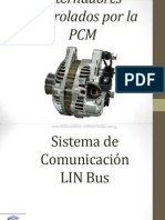 Curso Alternadores Controlados Pcm Sistema Comunicacion Lin Bus Control Alternador Psa Pwm