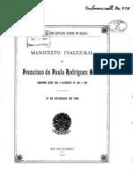 Discurso 1902 Rodrigues Alves - Fonte Site Da Biblioteca Da Presidencia 18-08-2015