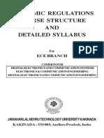 M.tech(DECS) Syllabus