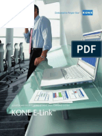 Kone e Link Elevator Escalator Monitoring and Command
