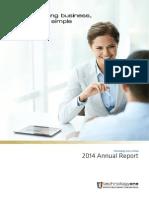 TechnologyOne Full Year Report 2014