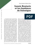 Iannis Boutaris et les fantomes de Salon