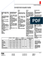 foma chemicals sheet