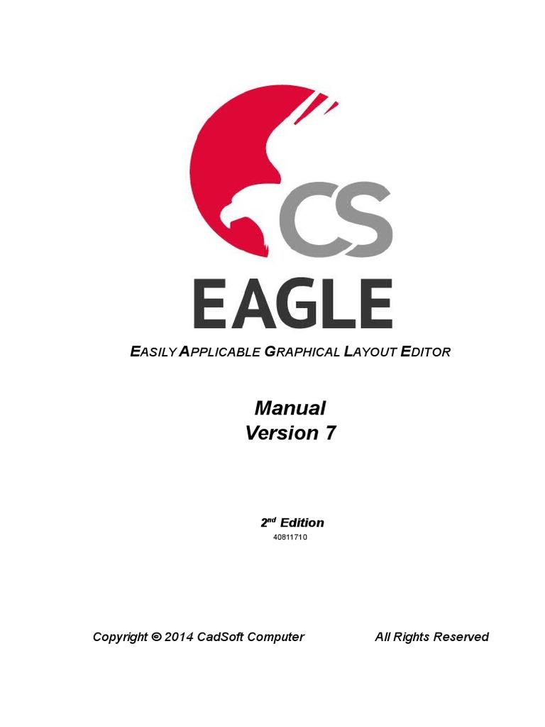 Eagle manual-7.1_en | Operating System | Installation (Computer ...