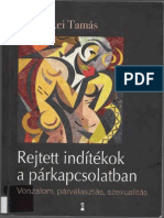 Bereczkei Tamás - Rejtett Indítékok a Párkapcsolatban