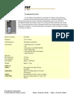 Ketterer-Hellmann Precipitation Recorder
