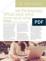 The York Pedagogy