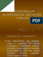 Indicadores de nutricion y Salud