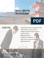 4 factors affecting the rise of japan