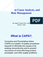 Capa Risk RCA