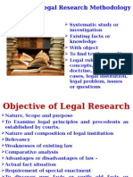 2. Legal Research Methodology