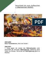 Chronik Warhammer 40000 Vorgeschichte des Imperiums