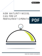 New Maturity Model Can Fire Up Restaurant Operations