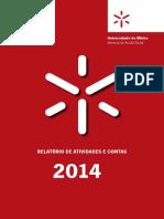 Relatorio de Atividades e Contas SASUM-2014