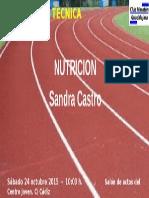 NUTRICION -Sandra Castro