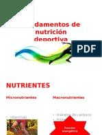 Fundamentos de Nutrición