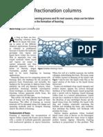 Foaming in Fractionation Columns