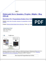 Ileri Seviye Plc ProgramLama Seminer Kurs Notlari
