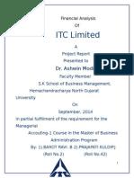 Project of ITC LTD