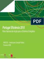 PNAEE Portugal 2015