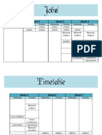 jobs timetable 2nd ed
