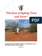 The Error of Fighting Terror_Final Disappearances Report PDF