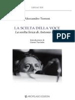 La Scelta della voce. La svolta lirica di Antonio Porta