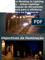 Urban Lighting - Contextualização Do DREEIP