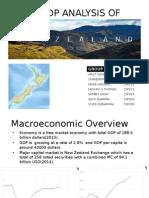 GDP Analysis of New Zealand