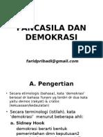 Pancasila Dan Demokrasi