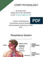 08 Respiratory Physiology