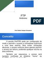 Aula 11 - Acesso Anonimo FTP