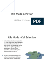 Idle Mode Behavior