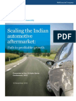 Scaling the Indian Automotive Aftermarket Executive Summary