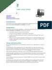 Configuration Guide Linksys SPA942 v3 Sep 1 2008