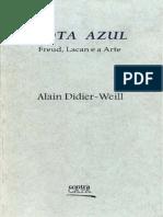 Alain Didier Weill Nota Azul Freud Lacan e a Arte (1)