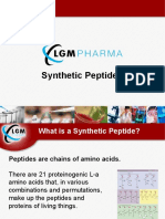 LGM Pharma - Synthetic Peptides